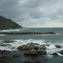 日本海沿いにあります