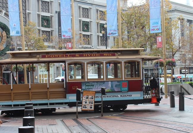 Powell Station (Cable Car)