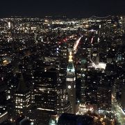 NYの夜景を堪能