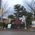 写真:琴桜銅像