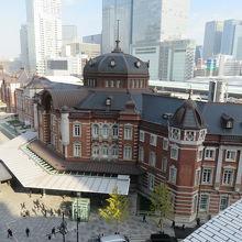 東京駅を見る場所