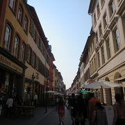 ハイデルベルクのメインストリート
