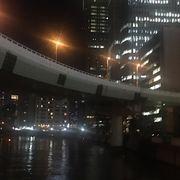 肥後橋駅すぐの橋
