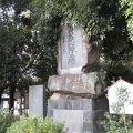 写真:駿州赤心隊の碑