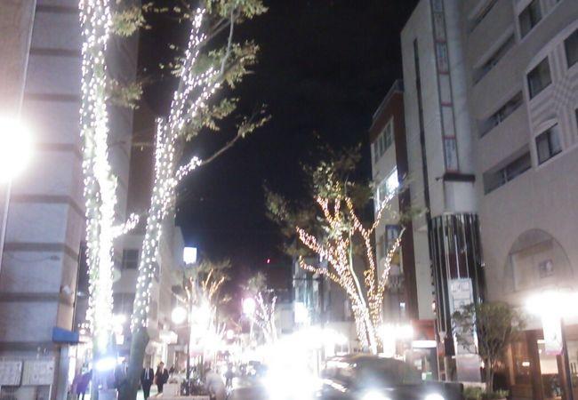 七間町名店街 (七間町通り)