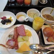 グランヴィアホテルの朝食