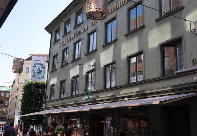 ヘルシンボリの老舗カフェ