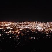 夜景は最高ですが星も振るように綺麗