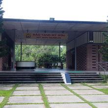 ミーソン遺跡の展示館