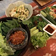 やさしい味の北タイ料理が食べられます