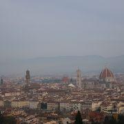 フィレンツェの展望台