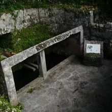 荻堂大城湧水群 イリヌカー