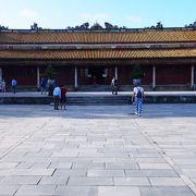 ベトナム最後の王朝の王宮