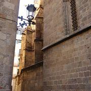 旧市街の古い街並み