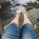 湯の川温泉足湯 湯巡り舞台