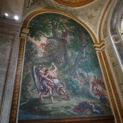 ドラクロワの壁画