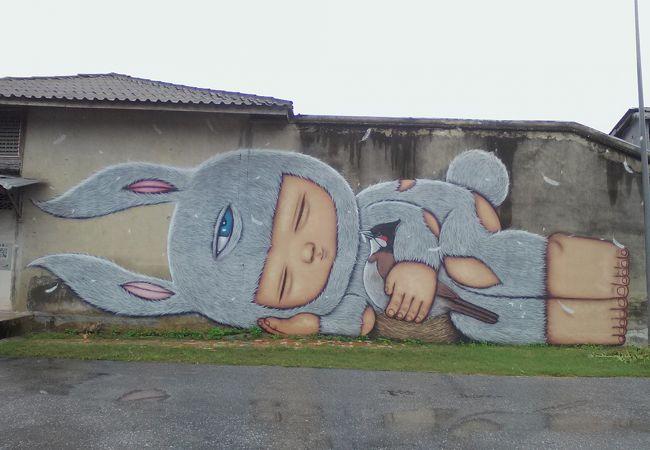 バードシティー ストリート アート