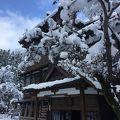 雪景色の中