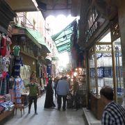 観光客用の市場