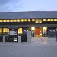 博物館入口の様子