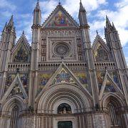 オルヴィエートの大聖堂