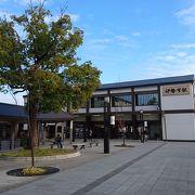 お伊勢参りのスタート地点になる駅です。