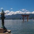 写真:嚴島神社 平舞台