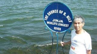 白ナイル川の源流