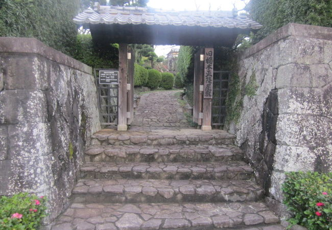 旧楠本正隆屋敷