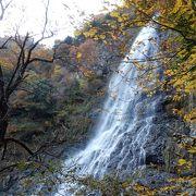 落差98mの大きな滝