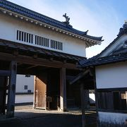 掛川城の立派な門