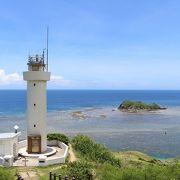 灯台と海のコラボレーション
