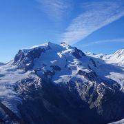 アルプス山脈で二番目に高い山・モンテローザ必見