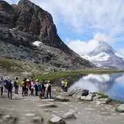 大人気のハイキングコース