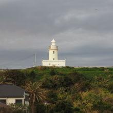 房総半島の最西南端にある小さな灯台