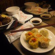 簡単な中華点心が食べられます