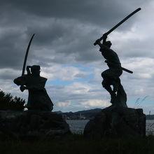 武蔵 vs 小次郎の古戦場 ♪