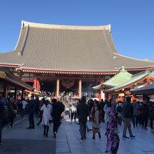 都内で最古のお寺