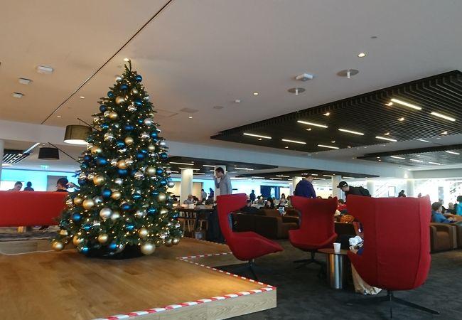 スキポール空港 KLMクラウンラウンジ
