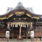 町の人々から敬愛された豊臣秀吉公を祀った神社