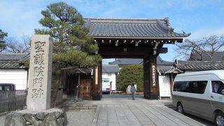 格式が高い寺院です