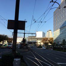 岡山駅前停留場