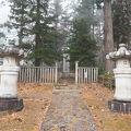 写真:会津藩主 松平家墓所