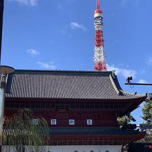 東京タワーと