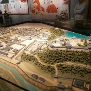 犬山城下町が再現されています