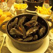 ベルギー発のムール貝が美味しいお店