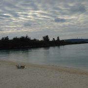 平良から最も近いビーチ (パイナガマ)
