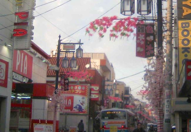 象印の商店街