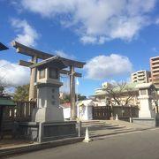 見所多い大きな神社