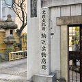 写真:駒込土物店跡